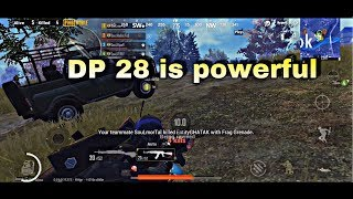 Dp28 is overpowered in tournament matches|PUBG MOBILE| Team SouL