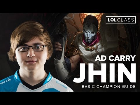 C9 Sneaky Jhin AD Carry Guide - Season 6 | League of Legends
