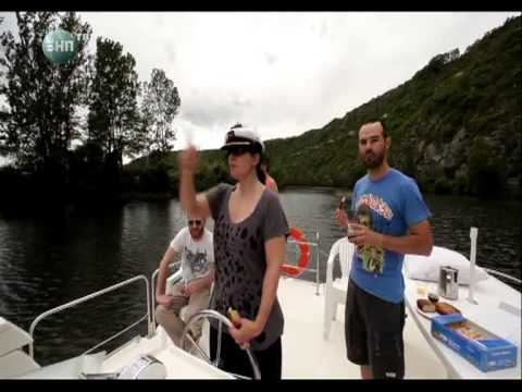 Travel on the rivers of Europa.wmv