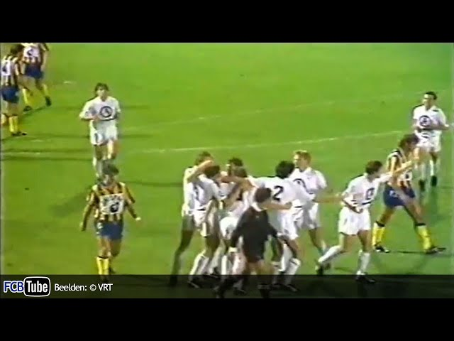 1989-1990 - Jupiler Pro League - 08. SK Beveren - Club Brugge 0-1