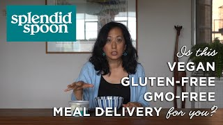 Splendid Spoon Meal Delivery Kits: Nutritional Vegan, Soups, Smoothies, Grain Bowls And Noodles
