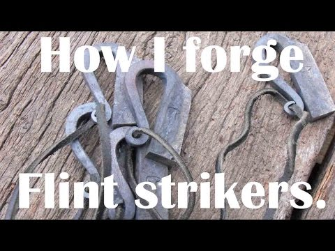 Blacksmithing: How I forge a flint striker!