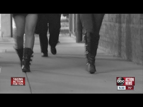 Child sex trafficking a very real problem in Tampa Bay area