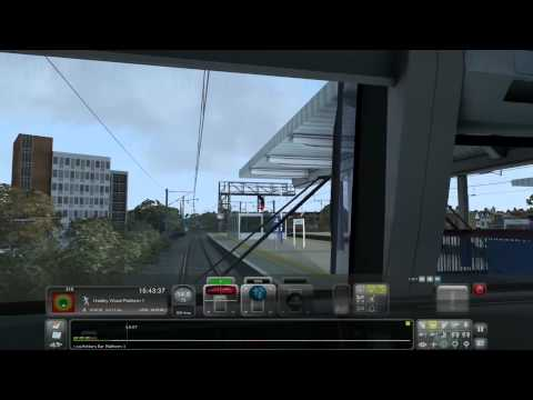 RailSimulator Train Simulator #188 Class 365 Ein sehr langer Bremsweg |