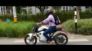 ¿Cómo es andar en moto eléctrica en Medellín? Revista VEC, Medellín se mueve mejor, de Telemedellín
