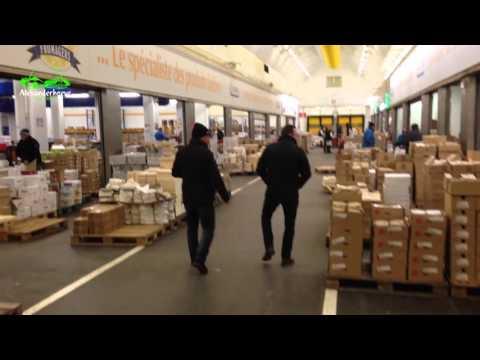 Parijs Groothandelsmarkt Rungis Youtube