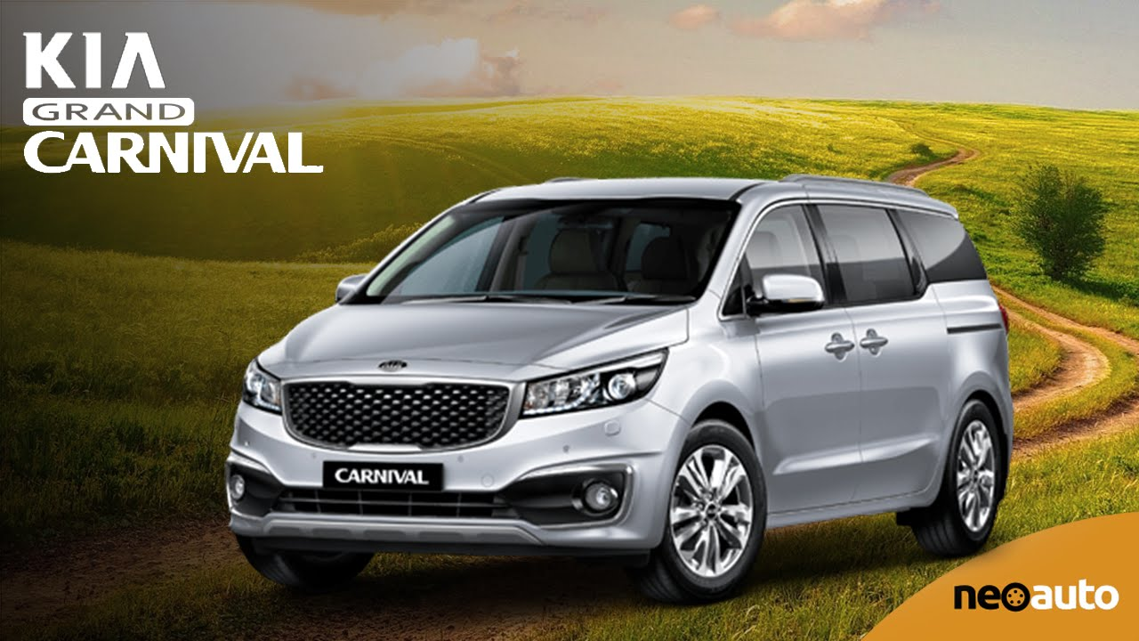 Presentamos La Kia Grand Carnival 2015 Neoauto Com Youtube