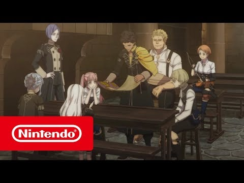 Fire Emblem: Three Houses Switch Game's Video Previews Officers Academy