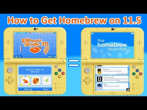 How To Get Homebrew On Nintendo 3Ds - Firmware 11 5 0 - For Free