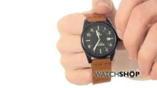 Vivienne Westwood Men's Butlers Wharf Watch (VV079BKTN)