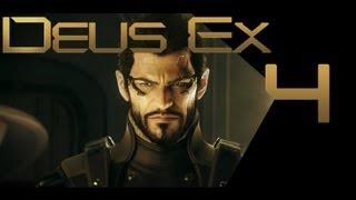 Deus Ex: Human Revolution #4 Кражи со взломом (Прохождение)