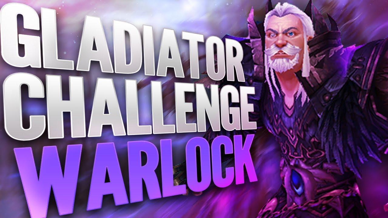 Trillebartom Gladiator challenge 2v2 Arena [Warlock] Part 1 (0-1800) | WoW Shadowlands Arena