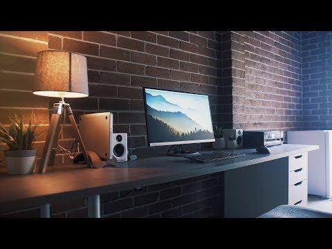 Industrial Desk Setup - Modern and Minimal