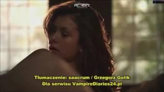 Vampire Diaries S5 Damon Elena break up scene PL
