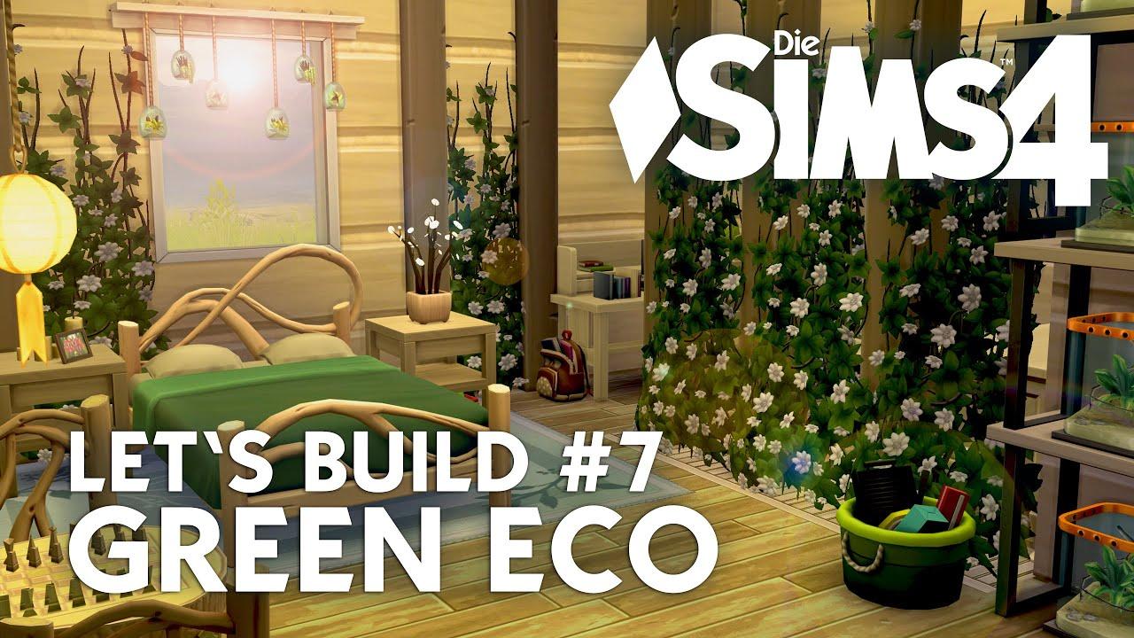 Die Sims 4 Let's Build Green Eco #7 | Haus Bauen + Schlafzimmer ... Schlafzimmer Grn