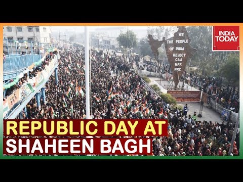 Anti CAA Protesters Celebrate Republic Day At Shaheen Bagh