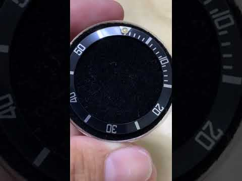 Rolex 16800原裝均勻褪色粗字鋁圈,微黃夜光珠#16610 168000也適用#1601 omega longines #限定下標!!