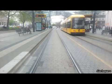 Dresden / Tramway / Streetcar / Straßenbahn Linie 11: Zschertnitz - Bühlau (Rundfahrt)