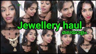 Instagram ൽ നിന്നും എങ്ങനെ ഷോപ്പ് ചെയ്യാം|Instagram store jewellery haul|ornaboxjewel|Asvi Malayalam