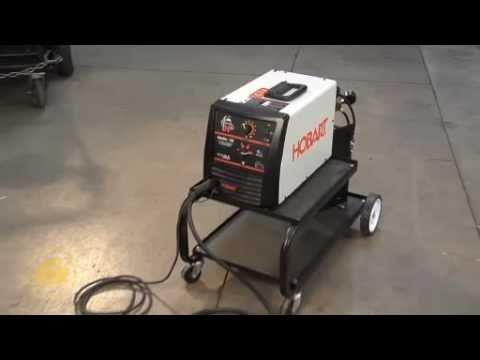 Hobart Handler 140 MIG Wire Feed Welder - 115 Volt, 140 Amp - YouTube