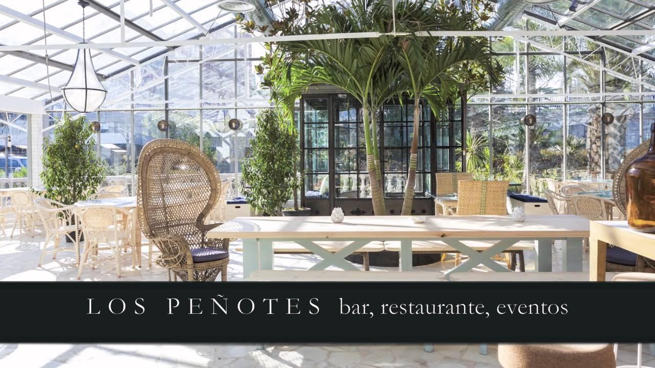 Restaurante el invernadero de los pe otes youtube for Vivero los penotes
