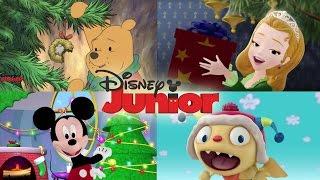 Weihnachtslieder für Kinder ♫ 10 Minuten Musik Mix | Disney Junior Musik