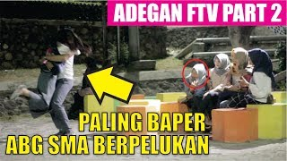 ADEGAN FTV PART2 PALING BAPER!! ABG SMA Romantis - Prank indonesia