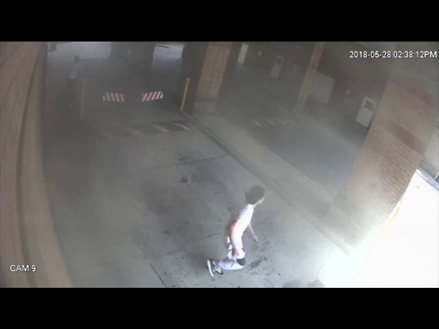 Kareemallah Muhammad fired a single shot up Parliament Street then fled by car with three others. This footage shows the police pursuit and arrest, on May 28, 2018. He and three others have since pleaded guilty in connection to the incident, which was captured by a combination of surveillance cameras and police in-car cameras.