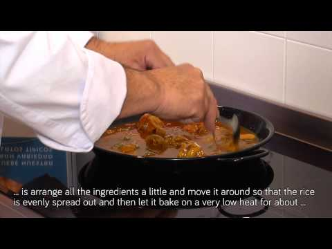 How to prepare Canned Chicken & vegetable paella