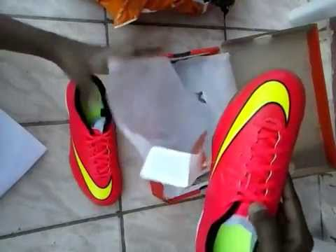 Chuteira Nike Mercurial Vortex 2 IC Netshoes Unboxing BR - YouTube 1ba1c168bb1cb