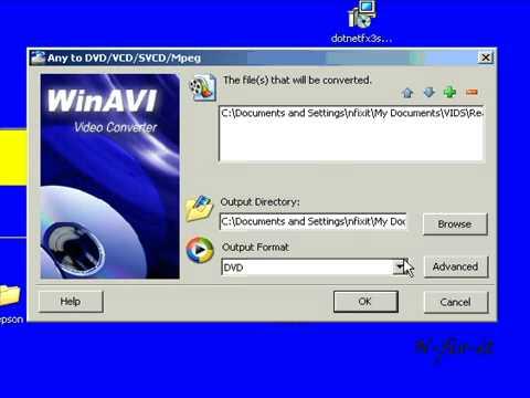 WINAVI Video Converter Pt 2 Overcoming Errors