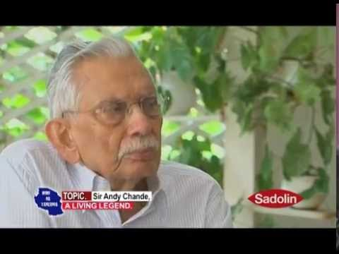 MIMI NA TANZANIA - SIR ANDY CHANDE, A LIVING LEGEND PART 1