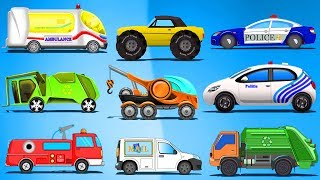 Futuristic Street Vehicles | Cartoon Videos For Children by Kids Channel