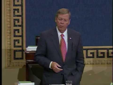 Senator Johnny Isakson Honors Emily Cox