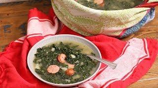 Caldo Verde (Portuguese Green Soup) | Ep 1319