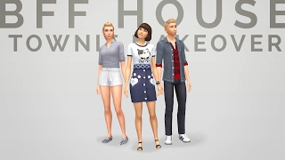 Sims 4  |  CAS  |  Townie Makeover - BFF