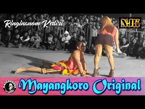 🔴 Ganongan Mayangkoro Original Live Ringinanom Kota KEDIRI 23 Juni 2019