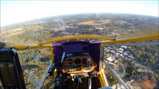 CGS Hawk SSC flight over Wautoma, WI area 9-22-2014