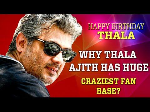 why thala ajith has craziest fan base ajith