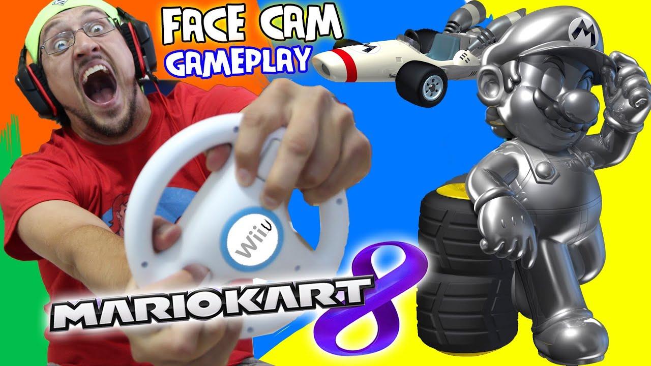 Mario Kart 8 Pt 3 Crazy Dad Is A Crazy Driver