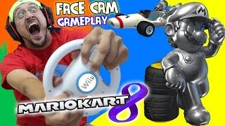 Mario Kart 8 - Pt. 3: Crazy Dad is a Crazy Driver [MUSHROOM CUP] !METAL MARIO Unlocked!