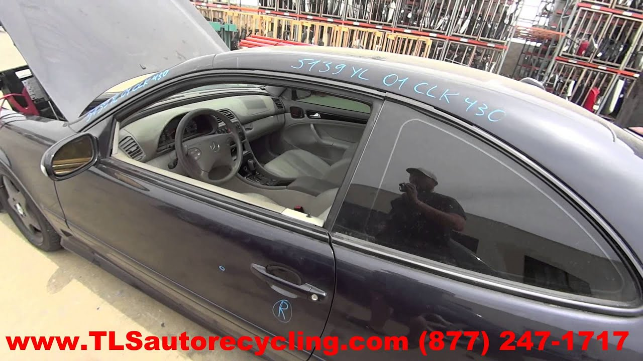 2001 Mercedes Benz CLK430 Parts For Sale  1 Year Warranty  YouTube