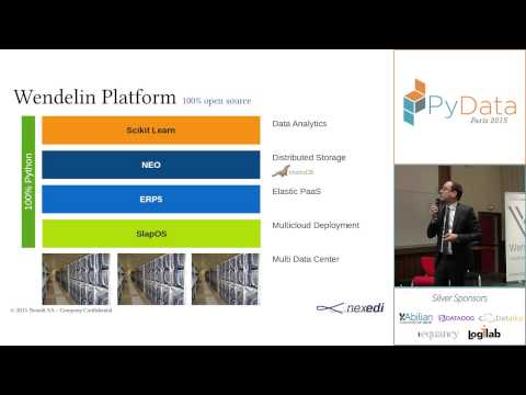 PyData 2015 - Industrial Monitoring with the Wendelin Big Data platform