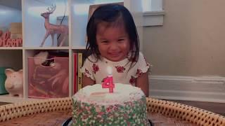 HAPPY 4TH BIRTHDAY, CHLOE ELIZABETH ♥️
