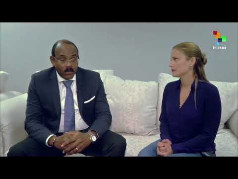 teleSUR Interviews The Prime Minister Of Antigua & Barbuda