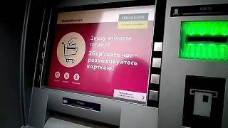 Как пользоваться банкоматом сбербанка \ How to use an ATM of a savings bank