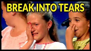 "Top 3 VERY EMOTIONAL ""CHILDREN START TO CRY"" AUDITIONS on GOT TALENT WORLD!"