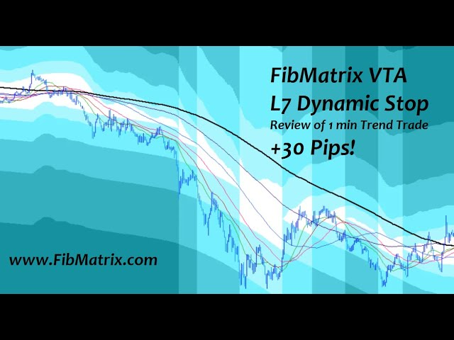Review of the L7 as a Dynamic Stop and 30 pips Trend Trade Review – FibMatrix Forex Trading Software