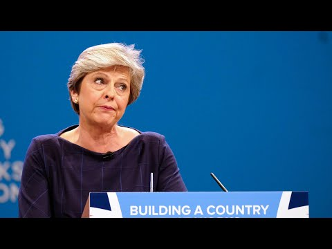 Everything that went wrong during Theresa May's speech