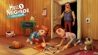 A HISTÓRIA DOS FILHOS DO NEIGHBOR!? - Hello Neighbor Hide and Seek